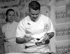 Chef Colin McGurran at Nigel Haworth's Fantastic Food Show - 6 (Tony Worrall Foto) Tags: show uk england food man celebrity cooking make festival fun demo northwest north restaurants tasty eaten blackburn event chef taste venue celeb nigel michelin reviews eatingout foodie asl chefs haworth lancs foodphotography taster celebritychefs 2013tonyworrall nigelhaworthsfantasticfoodshowlancashirefoodfestival