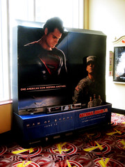 Man of Steel - New Superman National Guard Support AD  0148 (Brechtbug) Tags: street new york city nyc man building tower clock work dark comics painting movie poster book evening dc support paint theater comic near steel character alien ad guard bat working broadway superman billboard advertisement adventure national hero superhero billboards knight worker gotham 34th paramount krypton 2013