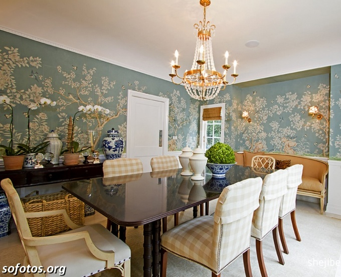 Salas de jantar decoradas (34)