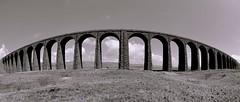 Ribblehead Viaduct (Ugborough Exile) Tags: uk england nikon fisheye cumbria ribblehead 2013 nikonpassion d7000