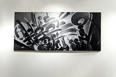 Chaz Bojorquez (cyan79) Tags: california cali graffiti la losangeles nikon graff calligraphy dslr lincolnheights d40 califas chazbojorquez smogtown plazadelaraza boathousegallery