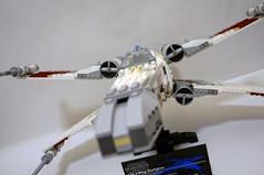 DSC01169 (starstreak007) Tags: red star lego five xwing wars ucs starfighter 10240