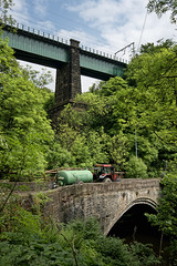 Old Bridges over the River Etherow at Broadbottom (JEFF CARR IMAGES) Tags: greatermanchester northofengland stonebuilt tameside englishvillages