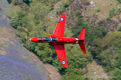 Red amongst the Blue Bells (Mark Williamson1) Tags: hawk aircraft jet planes redarrows raf lowlevel royalairforce aircraftphotos lfa7