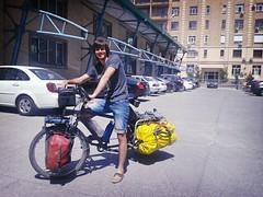 con mi amigo José en Tashkent (ruta_panamerikana) Tags: amigo uzbequistan flickrandroidapp:filter=rome euroasiatika