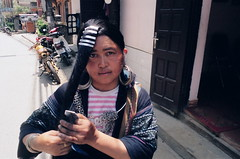 Su. (RebeccaJodie) Tags: 35mm vietnam olympusom1 sapa hmong zuiko28mm