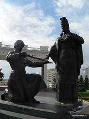 Скульптурная композиция на Монументе Вечной славы.