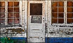 Home At Last (Junkstock) Tags: door blue windows white color texture abandoned window architecture rural photography photo washington paint doors exterior photos decay rustic explore textures nostalgia photographs photograph nostalgic americana weathered aged peelingpaint distressed relic flickrexplore ruralexploration explored oldandbeautiful agedwindow
