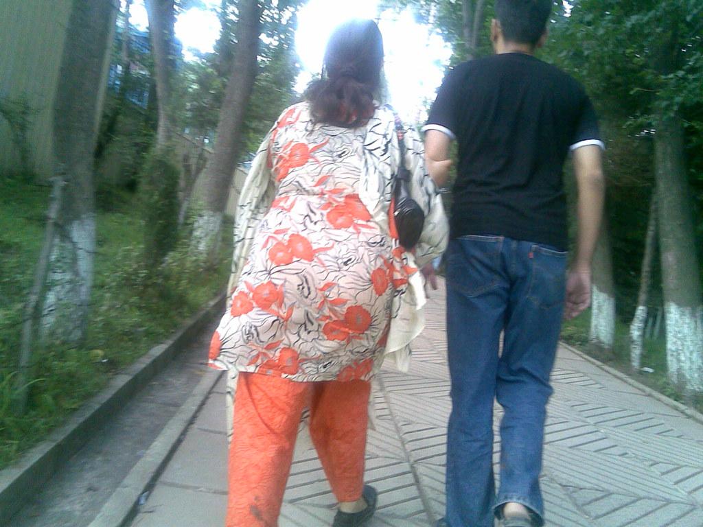 Pakistani street ass