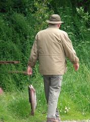Dnemark 2013 / Denmark 2013 (Yogi 58) Tags: daddy denmark trout filet dnemark forelle troutfishing yogi58 forellenangeln 2013 jrgsteiof olympusvr320