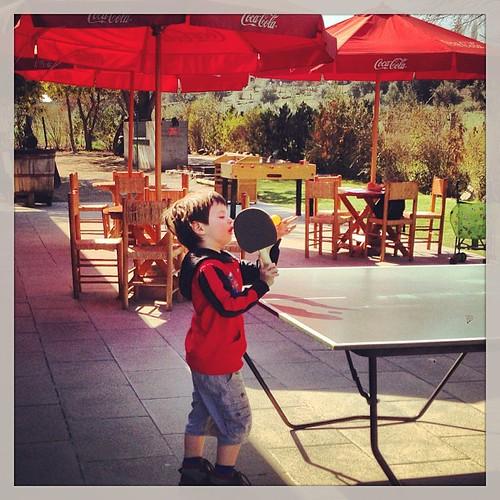 ...desbloqueando el nivel 1 en ping-pong :-)