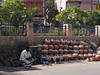 Water Pots (peak4) Tags: india water pen terracotta olympus explore pots pottery bikaner rajasthan omd em5