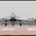 A mixed RSAF/RAF pair of Typhoons return.