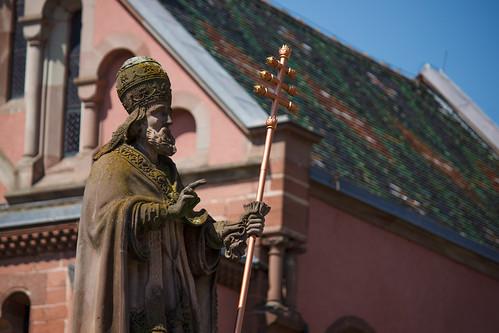 Statue de Leon IX