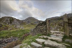 Gateway to Cwm Idwal (angeladj1) Tags: mountains snowdonia northwales cwmidwal snowdonianationalpark