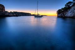 Calm (solapi) Tags: sunset sea beach beautiful sigma mallorca hdr oriol ribera vigilantphotographersunite solapi oriolribera
