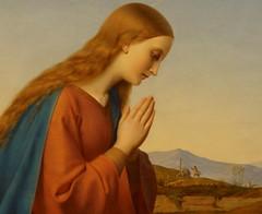 La vierge adorant l'Enfant Jésus (détail) (BRVR-RDF) Tags: art musée peinture ernest tableau deger oeuvreartistique laviergeadorantlenfantjésus muséedevalenciennes