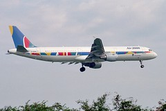 G-OOAI ~ 1999-08-00 @ LGW (www.EGBE.info) Tags: gooai gatwickairport lgw egkk londongatwick aircraftpix generalaviation aircraftpictures airplanephotos airplane airplanepictures cvtwings aviation davelenton planespotting airbusa321 air2000