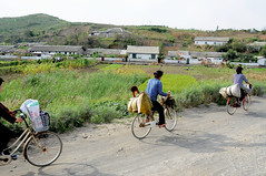 Road from Nampo to Sinchon / DPRK (anji) Tags: northkorea dprk democraticpeoplesrepublicofkorea