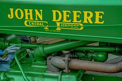 "1938 John Deere ""A"" model -- DSC00947 (Lance & Cromwell back from a Road Trip) Tags: oregon sony johndeere a57 farmtractor myrtlepoint cooscounty oldtractors sonyalpha sal16105"