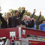 """<b>Homecoming Parade 2013</b><br/> The 2013 Homecoming Parade took place on Saturday, October 5. Photograph by Jaimie Rasmussen<a href=""""http://farm8.static.flickr.com/7339/10127931426_f920987c0a_o.jpg"""" title=""""High res"""">∝</a>"""