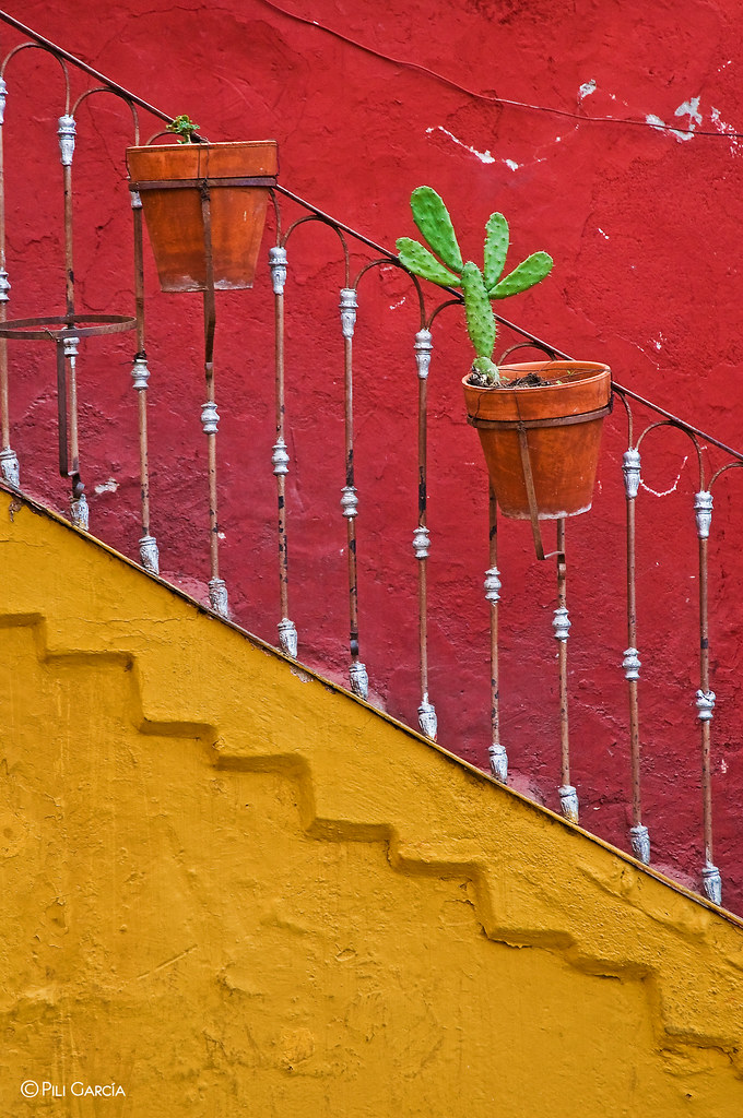 The world 39 s best photos of guanajuato and nopal flickr for Facade terre de sienne