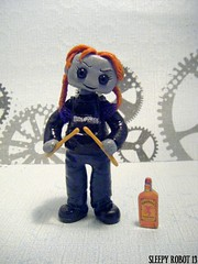 Ginger Fury Robot 1 (Sleepy Robot 13) Tags: cute robot diy handmade robots polymerclay fimo comicbook kawaii sculpey etsy urbanvinyl marvel sculpting smallbusiness sleepyrobot13 polymerclayurbanvinylsleepyrobot13etsysilvercraftcraftscraftingsculptingsculpturefigurinearthandmadecraftshowcutekawaiirobots