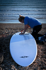 Seaford.Mate (danielpfeifer) Tags: england brighton surf stones surfboard