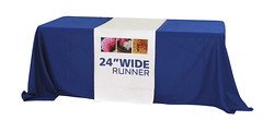 "Fabric Table Cover | Signarama | 24"" Runner"