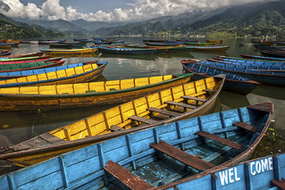 Welcome to Pokhara - Phewa Lake