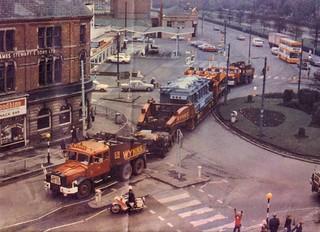 Wynne`s heavy haulage Manchester 1974