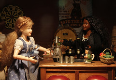We cater to all tastes (Gnome Girl!) Tags: november autumn fall beer festival bar toy miniature bottle pub doll wine ale scene oktoberfest mug tap pitcher pewter dollhouse dirndl dollshouse tankard beerhall novemberfest roombox 112thscale heidiott