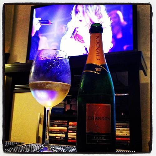 Um brinde ao programa #thevoicebrasil com #chandon