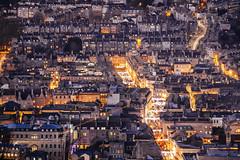 Christmas Lights. (Crusade.) Tags: uk autumn england urban architecture canon bristol landscape town bath somerset 70200f28 5d2