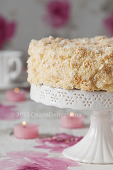 Napoleon cake (Oxana Denezhkina) Tags: birthday light food white green beautiful cake closeup breakfast dessert restaurant dish bright sweet background decoration cream mint puff tasty plate nobody fresh sugar gourmet delicious snack meal pastry napoleon bake elegance ingredient