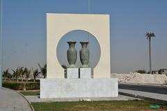 Twins (aswaqbilaqa) Tags: corniche jeddah sculptures
