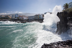 The Big Splash (MrBlackSun) Tags: nikon day tenerife splash puertodelacruz d600 nikond600 pwpartlycloudy