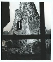Window to history (thowneymatthew) Tags: camera windows castle history film window stone darkroom work 35mm photography rocks view angle photographic erosion frame change hp5 process hadleigh windpw darkroon filmn