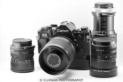 Canon A1 Kit (logie_logan) Tags: camera canon lens vintagecamera filmcamera product canona1 lightbox lenses productphotography canonlenses cameratakingphoto