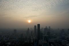 Sunset view Bangkok