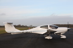 January 2014 at Leicester Airport (EGBG Up Loaded) Tags: leicester diamondstar da40tdi egbg leicesterairport leicesterairfield goccu