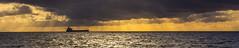 IMG_9079_adj (md93) Tags: sunset sky panorama cloud sun silhouette clyde ship rays coal hunterston steventson