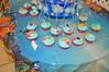 Finding Nemo Chocolate Cupcakes (rikkitikitavi) Tags: cake coral seashells dessert shark nemo handmade chocolate sealife disney cupcake vanilla squirt reef dory findingnemo milkchocolate fondant buttercream frenchvanilla brucetheshark handsculpted cakeball cakepop