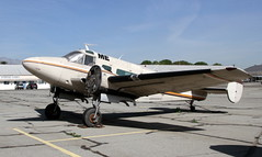Beech H18 N228A (ChrisK48) Tags: airplane aircraft 18 beechcraft 1962 cno chinoca kcno chinoairport beechh18 n228a