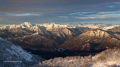 Alps (beppeverge) Tags: winter snow alps sunrise dawn alba neve inver