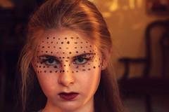 Programmed (Olivia~Kate) Tags: light portrait black girl concept conceptual dots society programmed