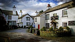 Hawkshead (alsimages1 - Thank you for 860.000 PAGE VIEWS) Tags: park houses buildings countryside fishing walks artistic grasmere lakedistrict churches tourist villages historic nostalgia national cumbria hotels bb accommodation lakeland ambleside windermere tearooms delightful langdale whitewashed bowness grizedale sawrey water william satterthwaite outgate potter beatrix wordsworth esthwaite
