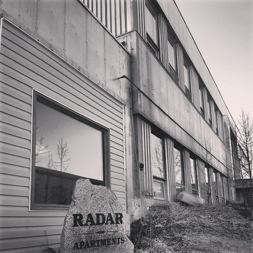Radar Apartments was converted from No. 5 Radio Unit, which used to monitor Soviet signals during the Cold War #yxy #Yukon