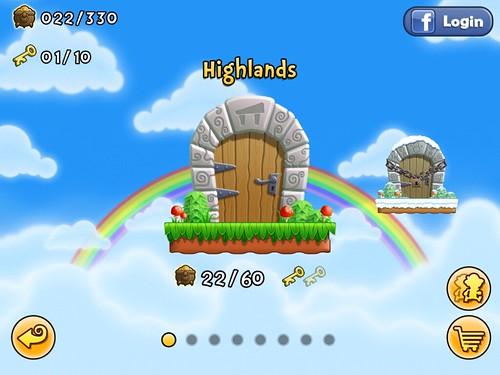 Lep's World Level Selection: screenshots, UI
