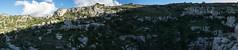 Necropolis of Pantalica (HamburgerJung) Tags: panorama pentax fisheye sicily sicilia necropolis k3 hugin sizilien pantalica da1017 necropolisofpantalica